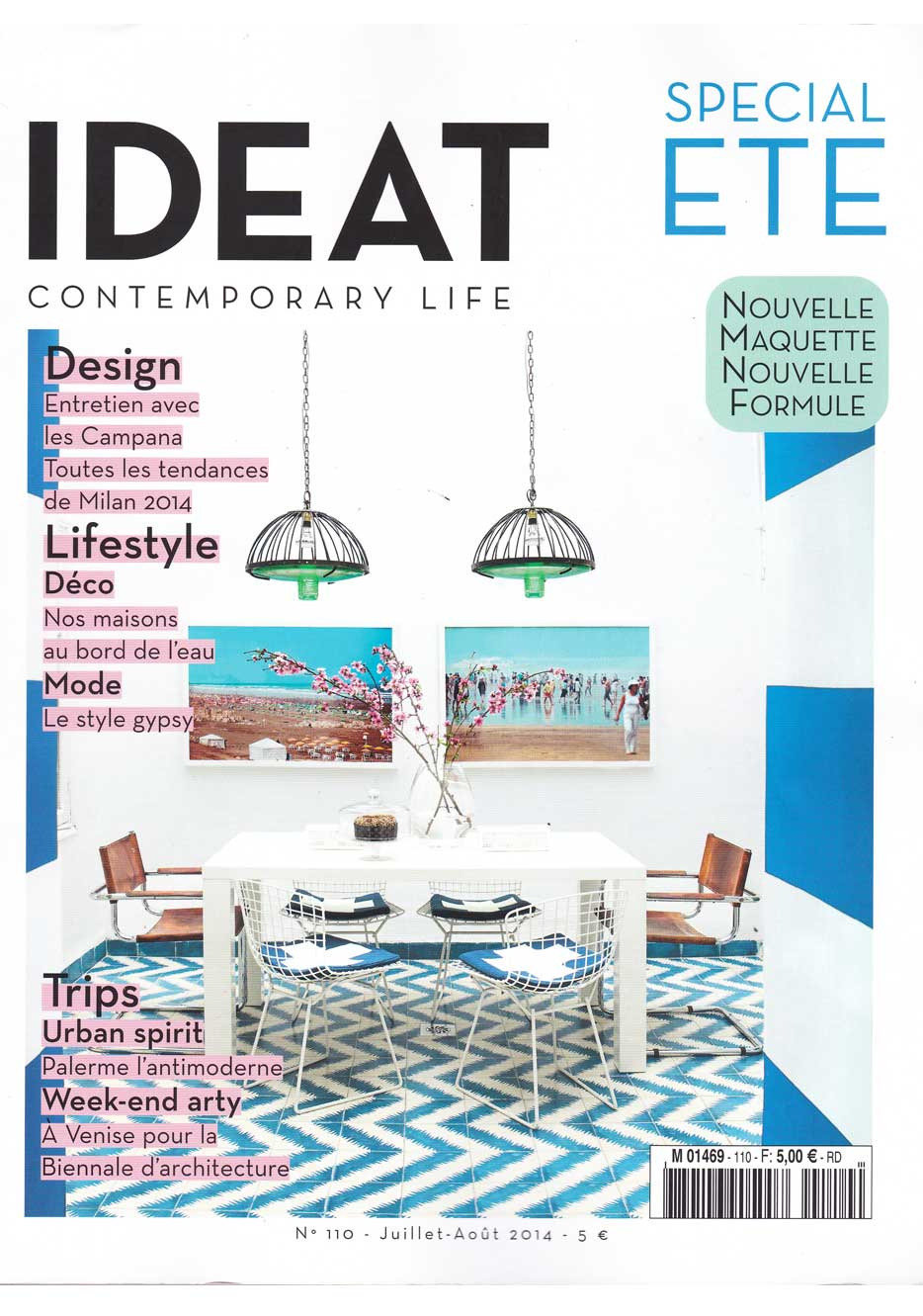 Article about Amaury Poudray in Ideat