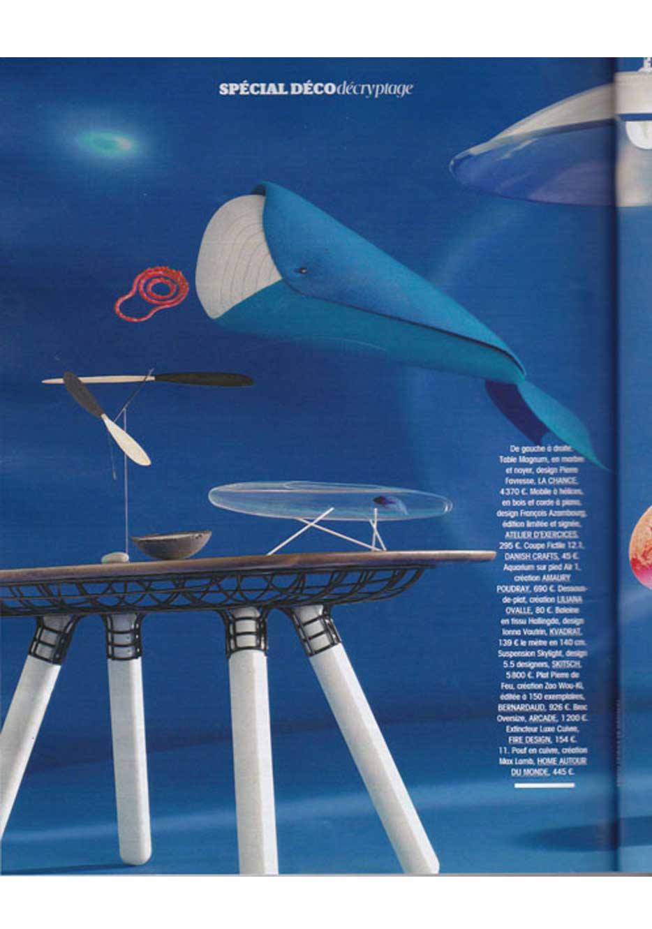 Article about AIR Aquarium by Amaury Poudray