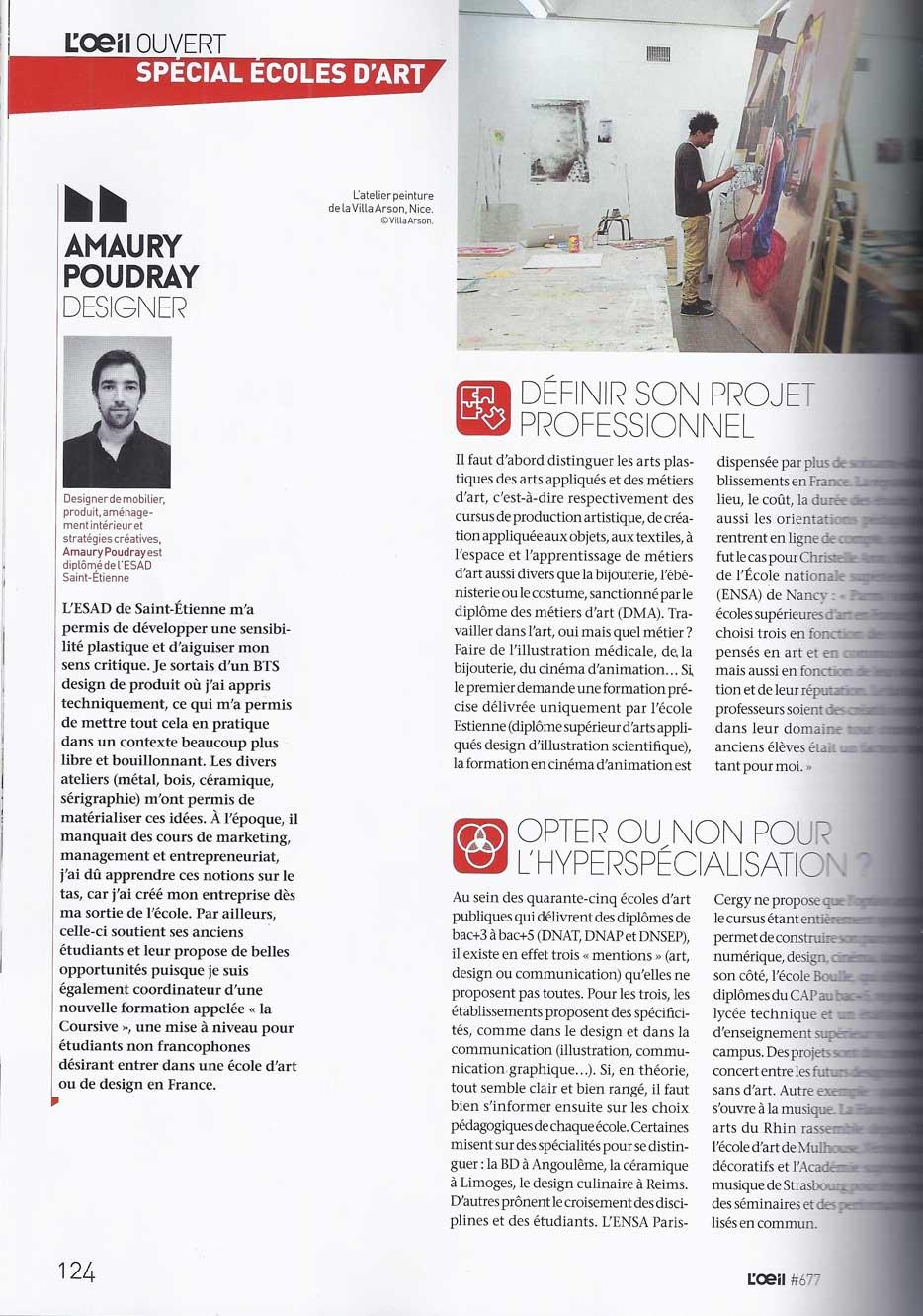 Amaury Poudray interveiw
